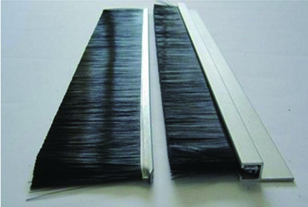Aluminum Brush Strip